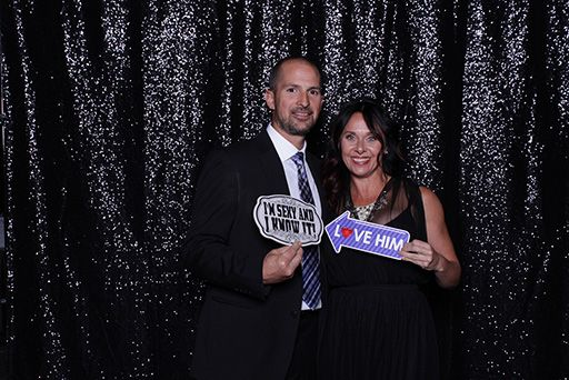 Photo Booth Couple Signs