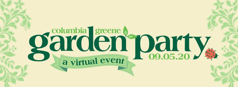 Columbia~Greene Garden Party Banner
