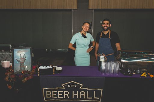 City Beer Hall Table