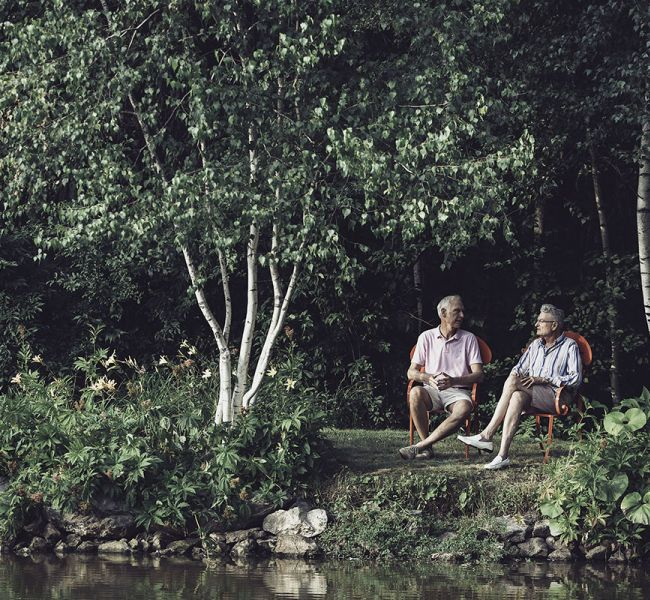 Ronald & Timothy_Sitting_by_Pond.jpg