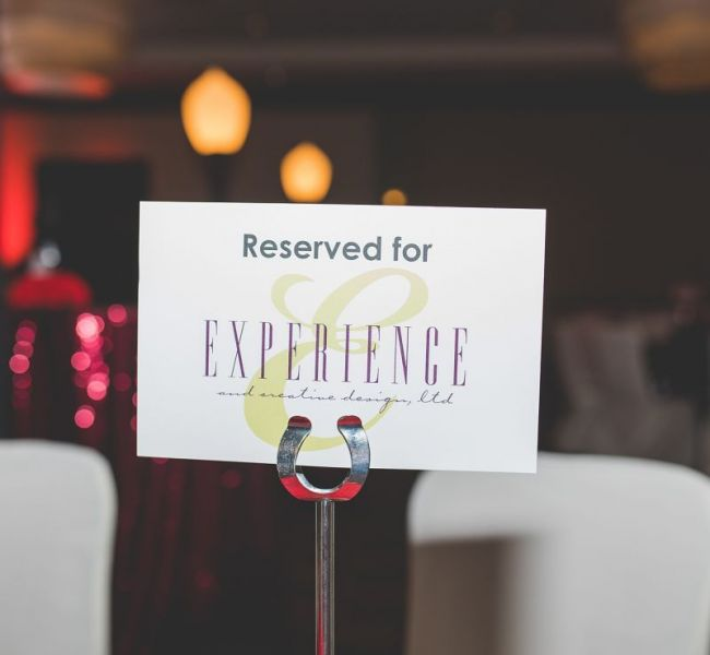 Experience Place Card
