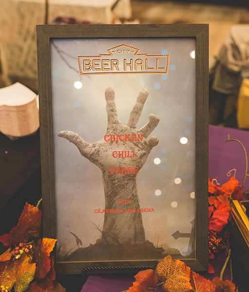 City Beer Hall Sign