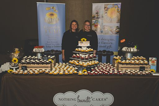 Nothing Bundt Cakes Table