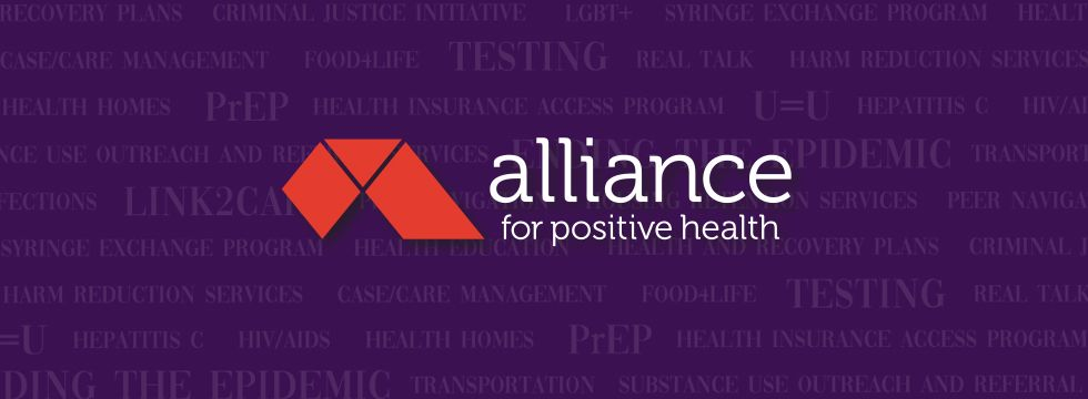 Alliance for Positive Health Banner