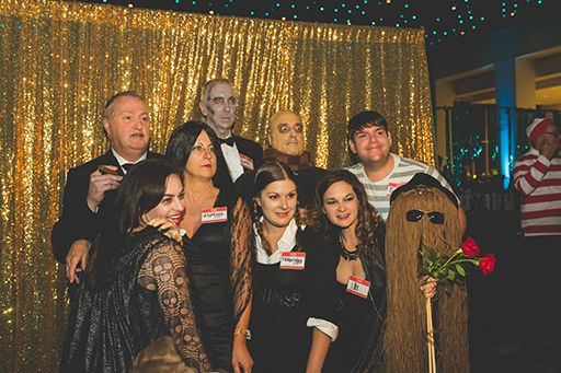 Addams Family Photo Booth