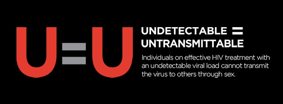 Undetectable = Untransmittable. Individuals on effective HIV treatment with an undetectable viral load cannot transmit the virus to others through sex.